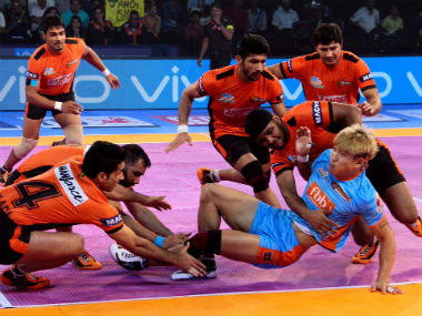 U Mumba Crush Bengal Warriors