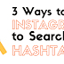 Search Instagram Hastags