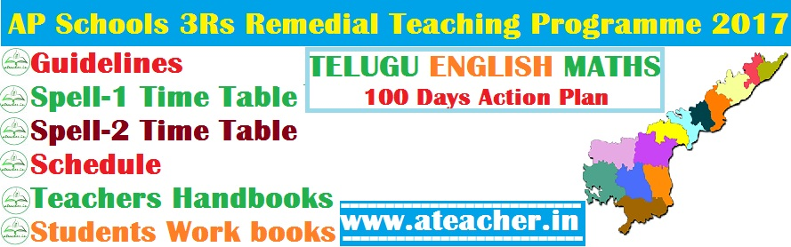 AP Schools 3Rs Remedial Teaching Programme 2017