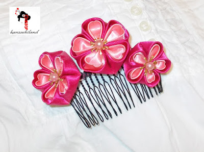 kanzashi handmade Kanzashiland