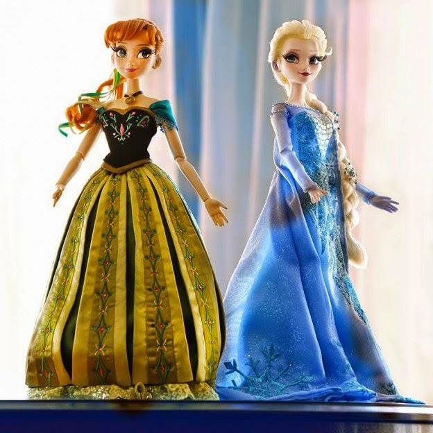 Gambar boneka anna dan elsa frozen download untuk anak