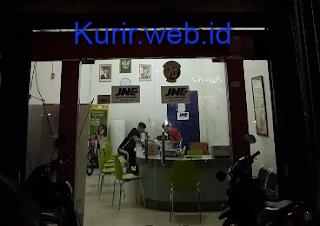 Alamat agen JNE di Palembang.