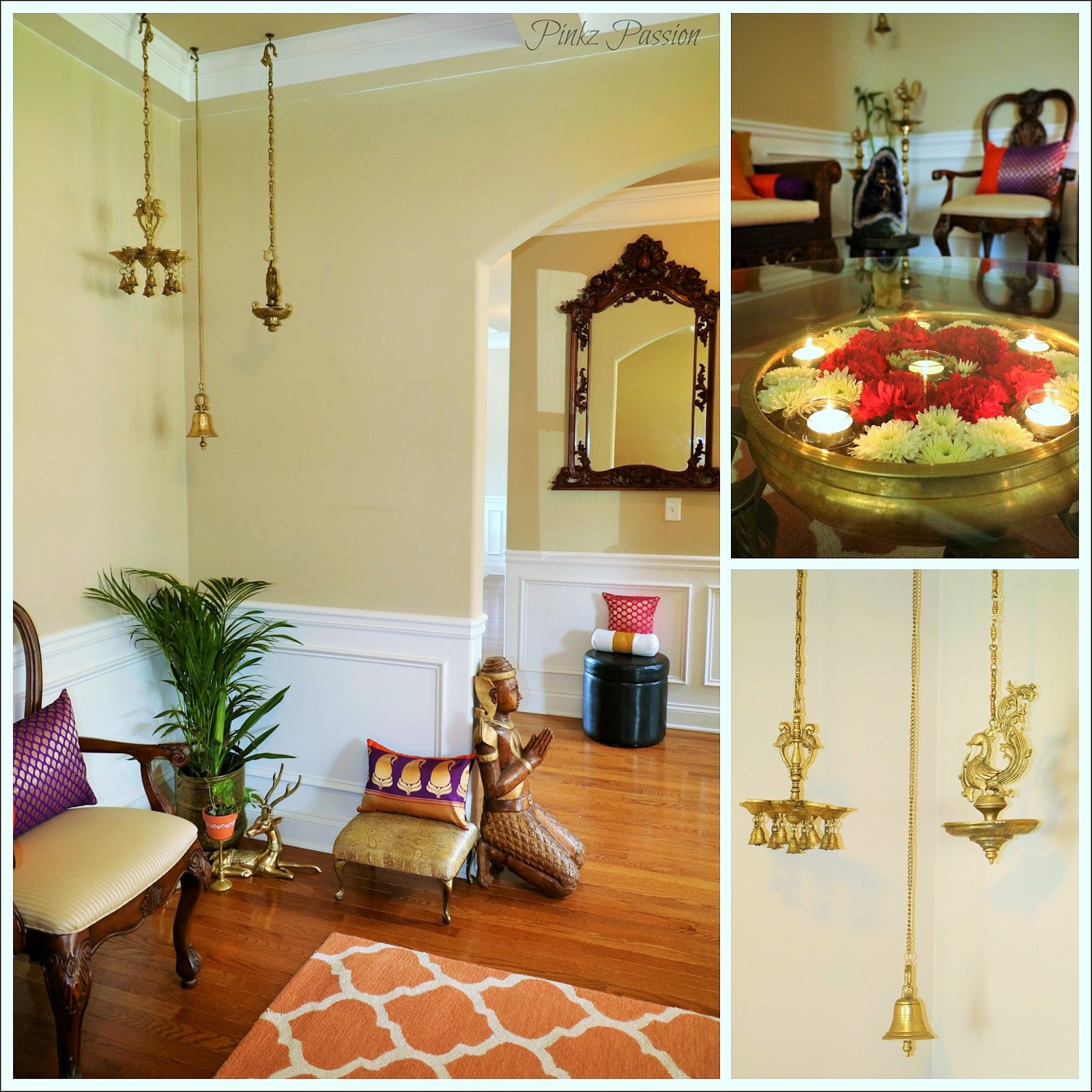 Traditional indian house decor