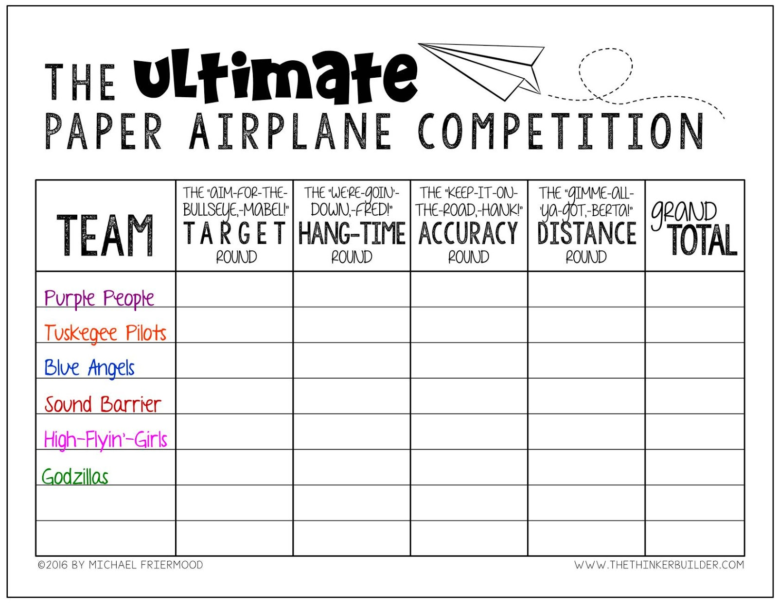 paper airplane templates for distance - flyin 39 to the end of the year