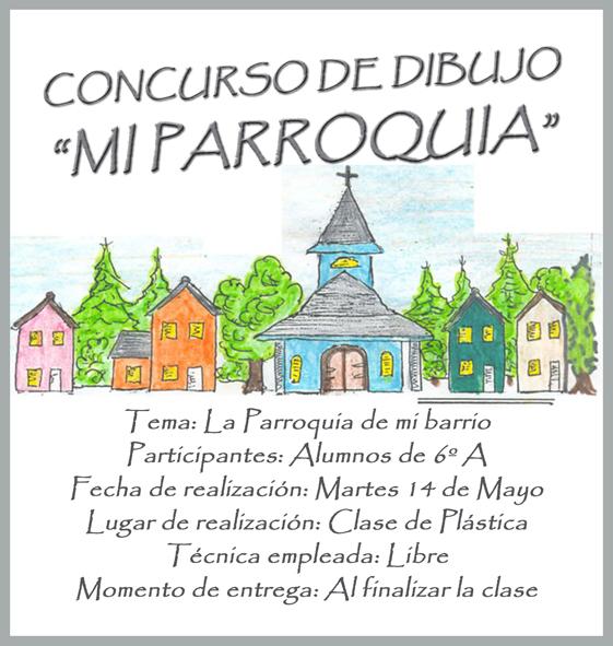 dibujos de parroquias mi parroquia concurso de dibujo