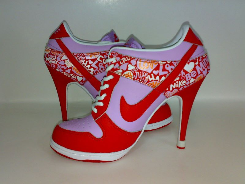 on sale 8707a 10e04 My Favourite Sport Shoes: Nike Dunk High Heels!!!! | It's A ...