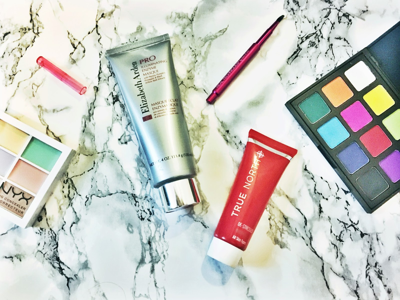 True North Destress Mask, Elizabeth Arden PRO Illuminating Enzyme Masque
