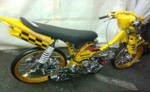 Modif Suzuki Smash