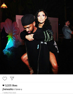 Jhene Aiko proclaims her love for Big Sean