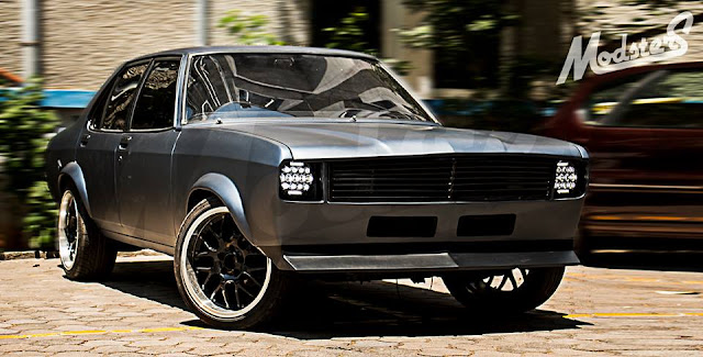 Modified Contessa Muscle car