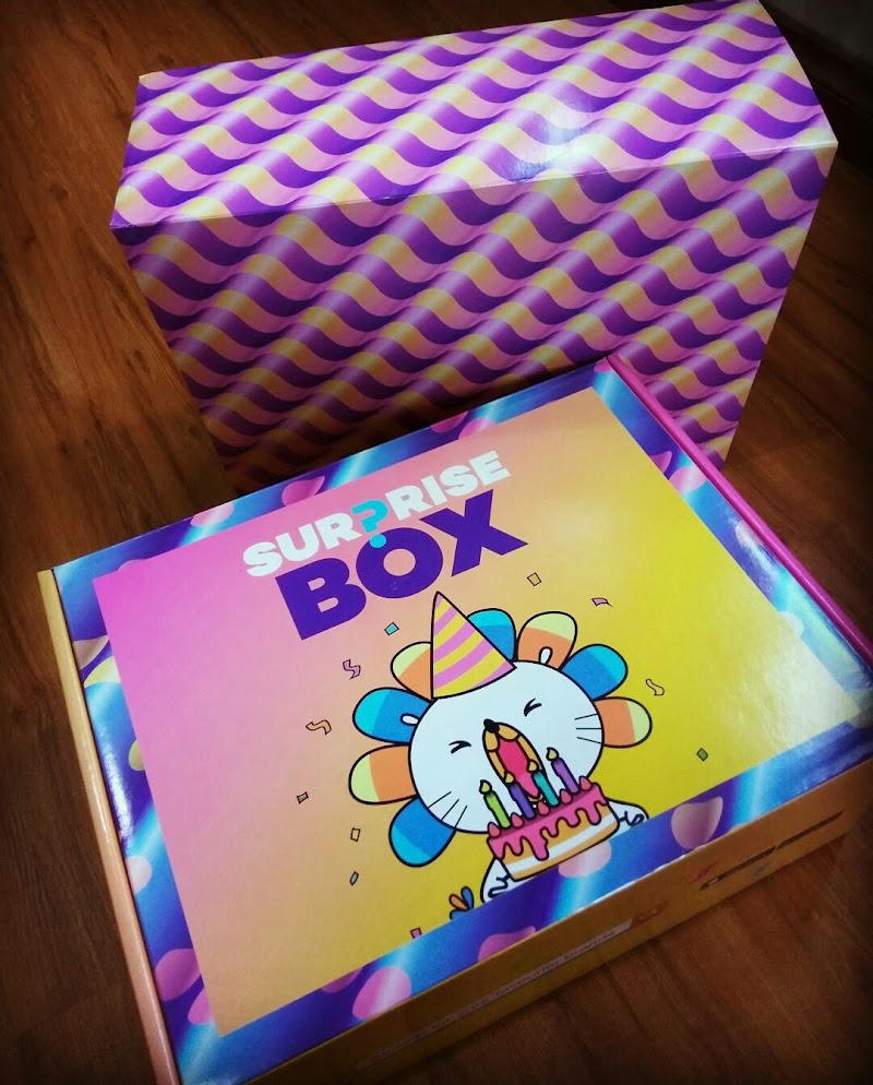 Surprise Box Dari Lazada!