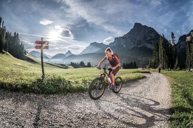 MTB Sappada - Scheibenkofel 2449m.ü.A. Mountainbike Tour - Monte Lastroni