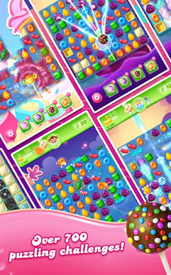 Candy Crush Jelly Saga v1.56.6 Моd Apk (Unlimited Lives+Unlocked)