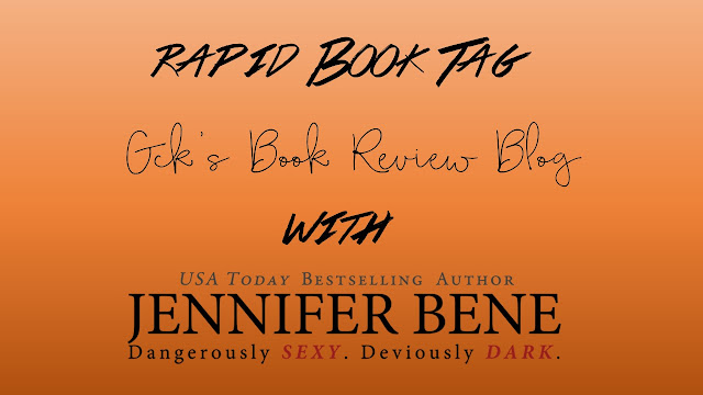 Rapid Book Tag with Jennifer Bene