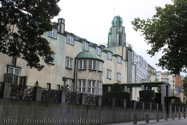 Palais Stoclet Josef Hoffmann Art Nouveau Brussels UNESCO