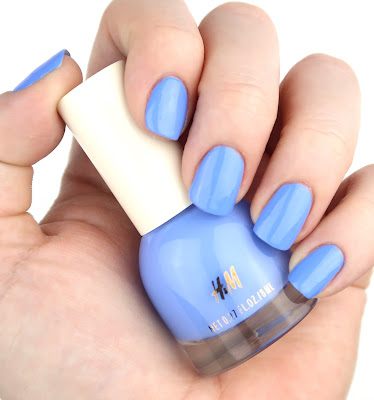 H&M Polish in Sky High review swatch swatches