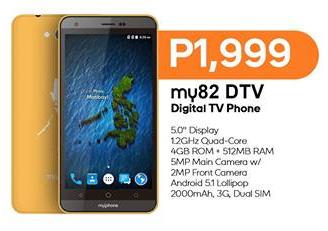 MyPhone My82 DTV