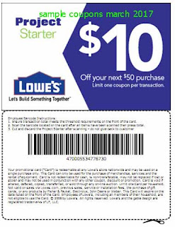 free Lowes Home Improvement coupons for march 2017