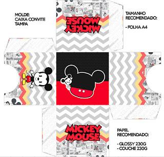 Vintage Mickey: Free Printable Boxes.