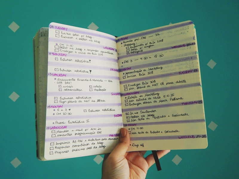 Bullet Journal Organização BuJo Planner Guia Como Fazer DIY Dicas Listas Tarefas Life Lifestyle Blog Não é Berlim Stephanie Vasques naoeberlim