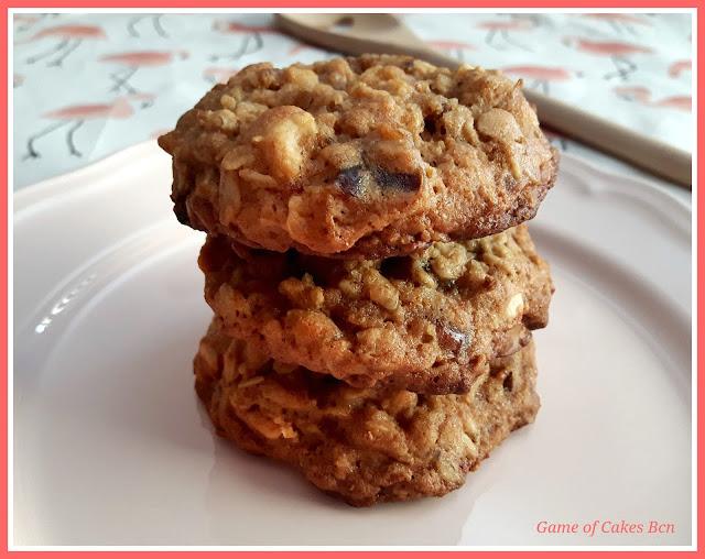 Cookies de Avena, Dátiles y Anacardos