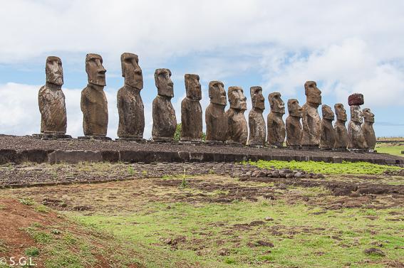 Ahu Tongariki en Isla de Pascua. Que ver en tres dias