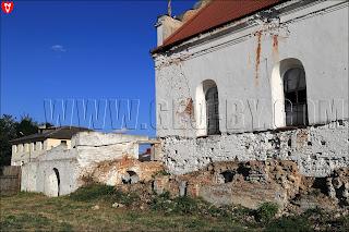 Слоним. Главная синагога. Руины