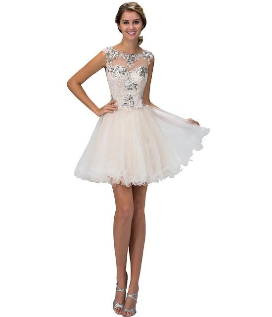 vestidos cortos de fiesta para disimular la panza