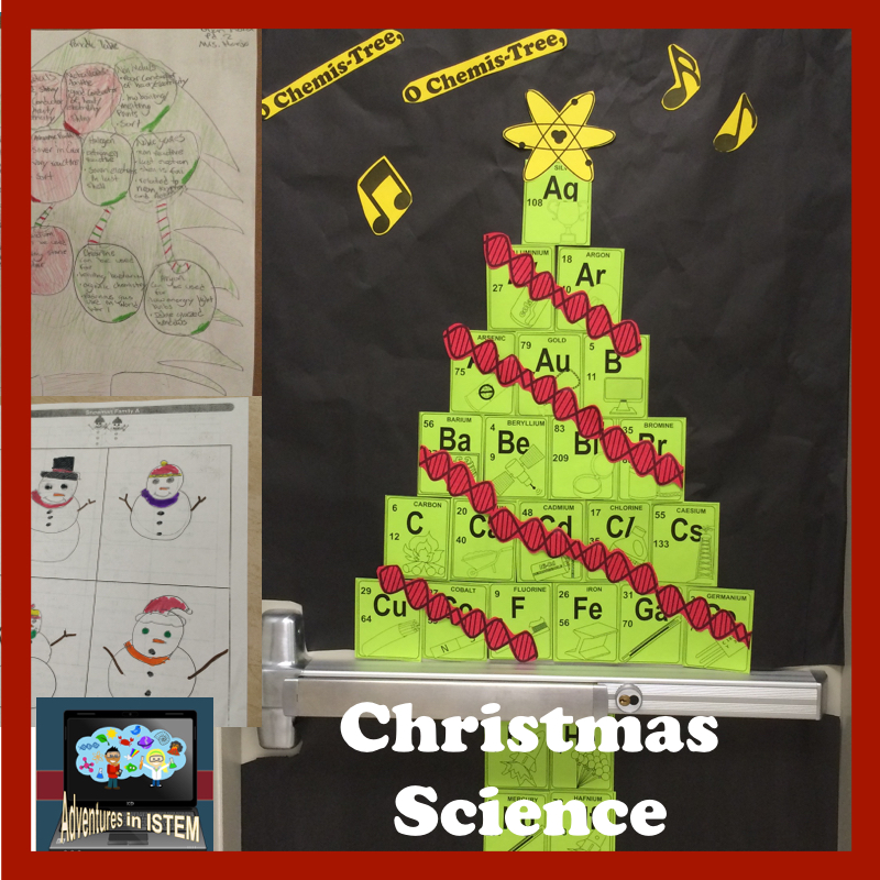 ADVENTURES IN ISTEM: Christmas Science: Science saturday