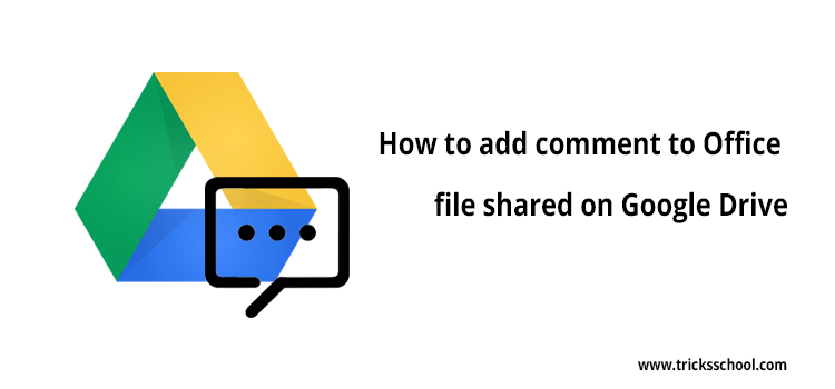 Google Drive Commit