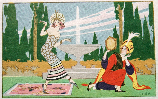Gobbi Art Deco Postcards