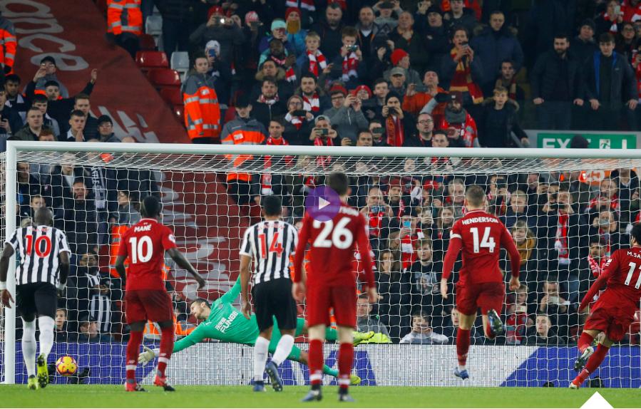 فيديو : ملخص واهداف مباراة ليفربول ونيوكاسل يونايتد