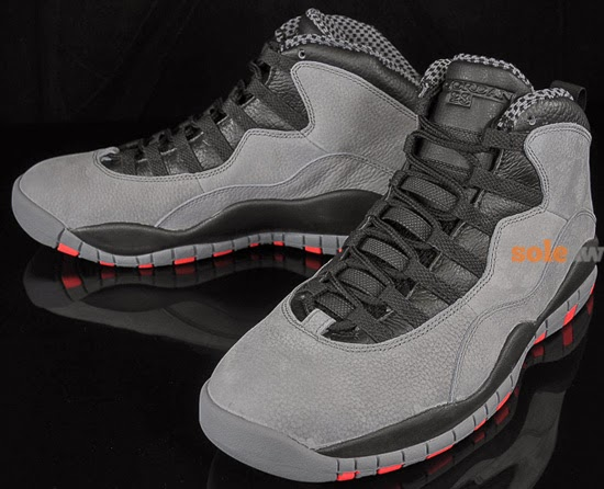 new products 53837 f8791 ... buy air jordan 10 retro cool grey infrared black january 2014 70aee  4194a
