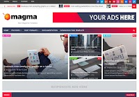 Magma News Responsive Blogger Template
