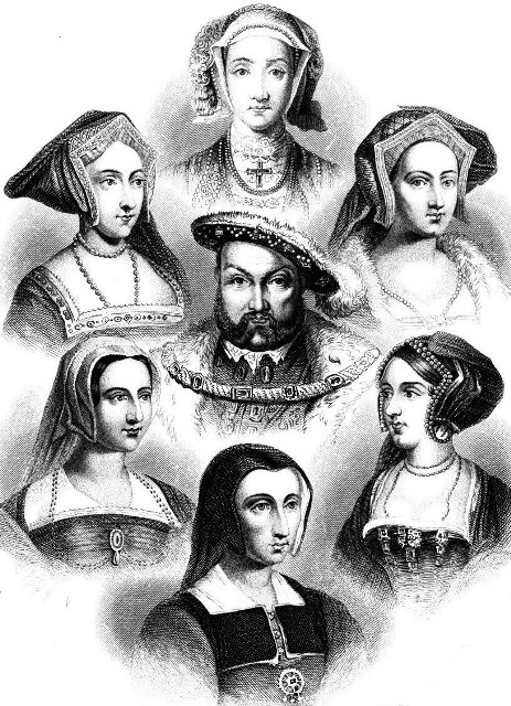 Henry VIII and his Six Wives, costumes
