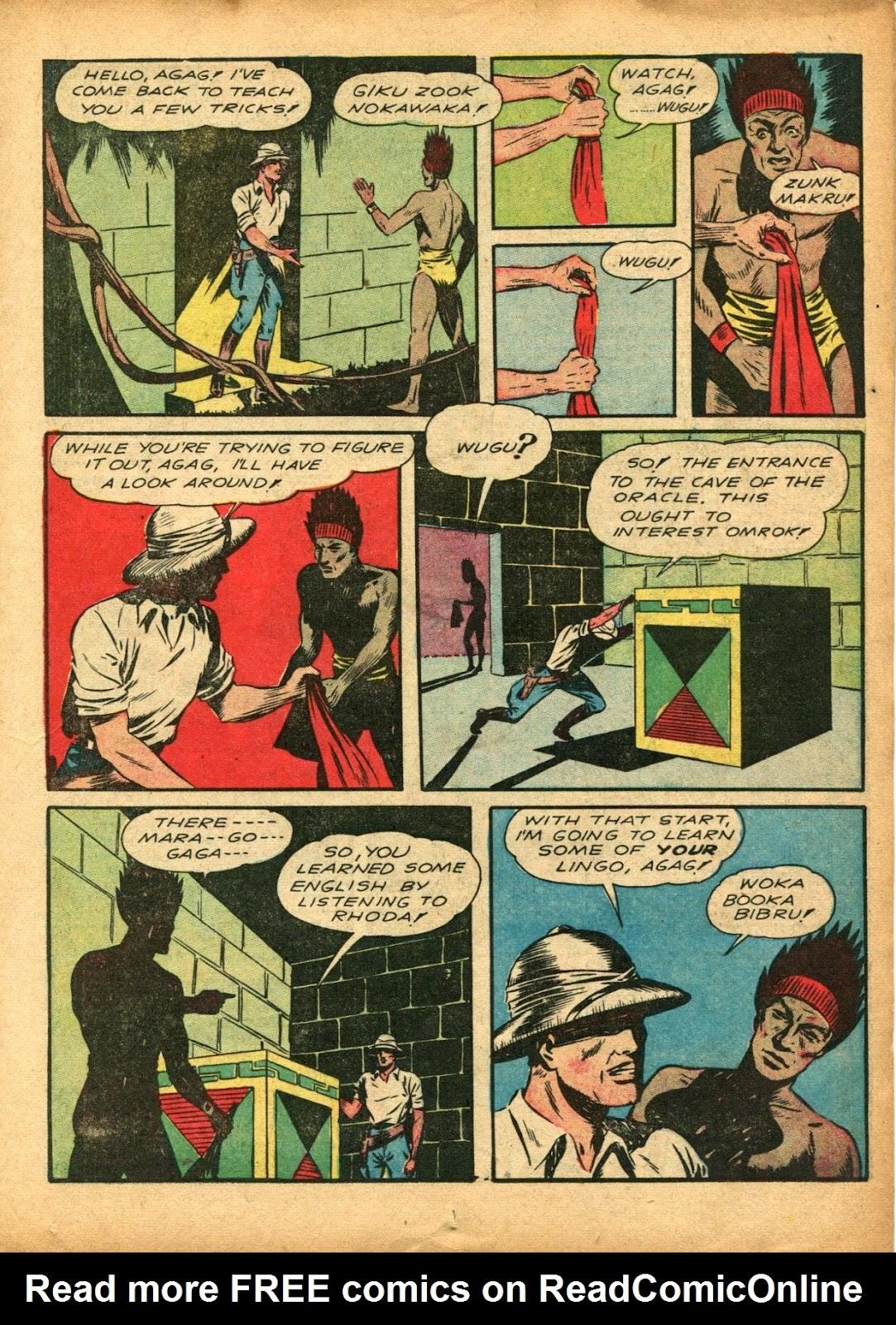 Read online Super-Magician Comics comic -  Issue #5 - 27