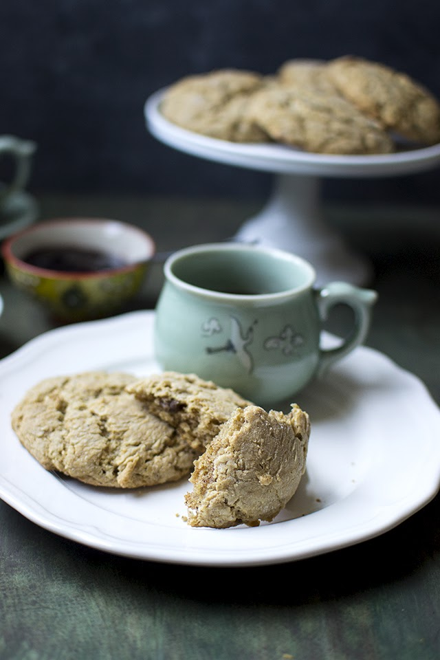Scones with Maple syrup and Pecans