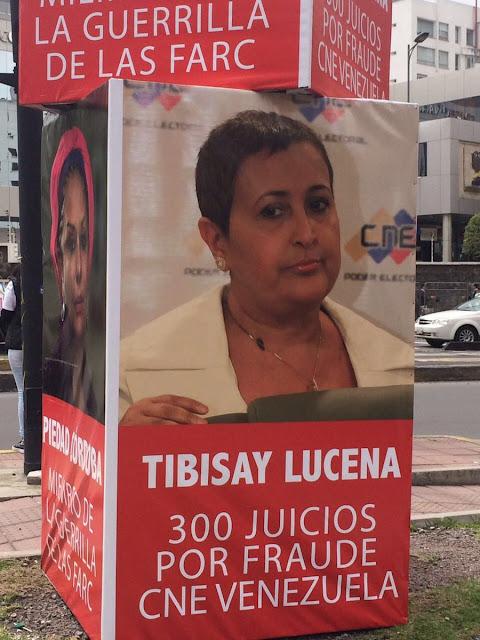 Ecuador no tolera a Tibisay ni a Oblitas interviniendo