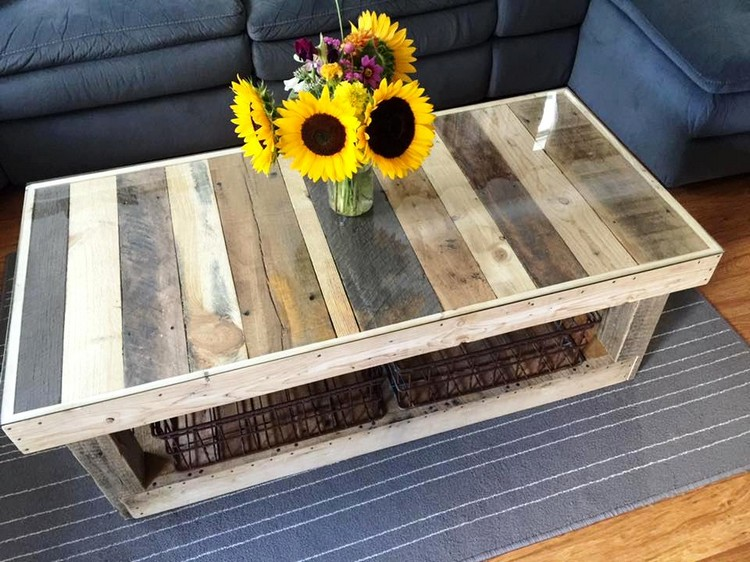Pallet Table to Inspired Your Living Room - Pallets Platform