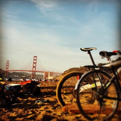 Baker Beach and the Golden Gate Bridge