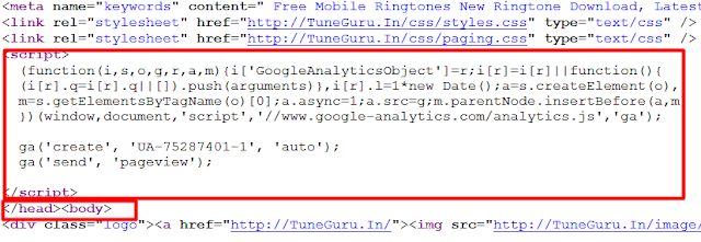 website security analytics account banaye