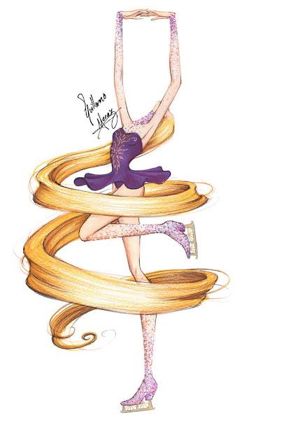 http://frozen-winter-prince.deviantart.com/art/Rapunzel-Ice-Skating-438127431