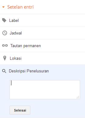 Deskripsi Pencarian