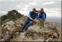 Avellano mendiaren gailurra 935 m. - 2017ko urriaren 28an