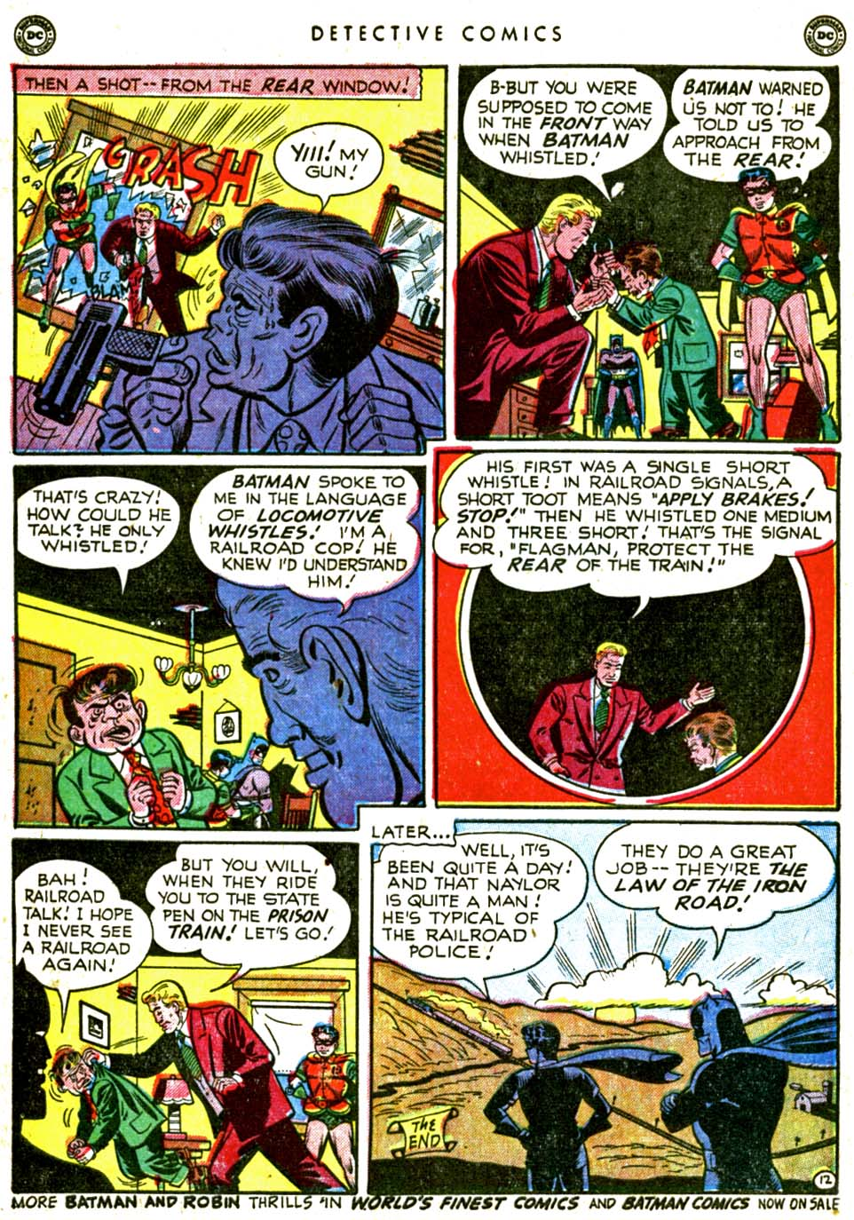 Read online Detective Comics (1937) comic -  Issue #162 - 14