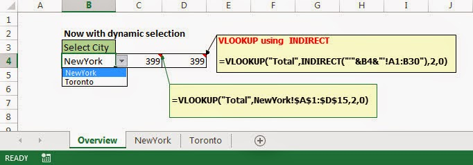 Excel 707 - Excel Made Easy: Excel INDIRECT Function