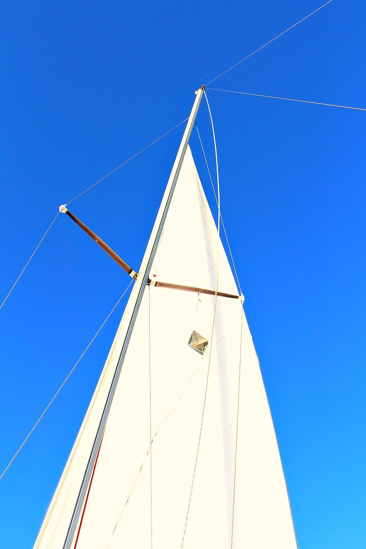 Sail Against Blue Sky