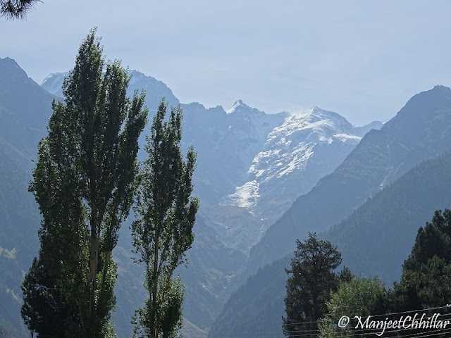 Kinnaur Kailash from Reckong Peo