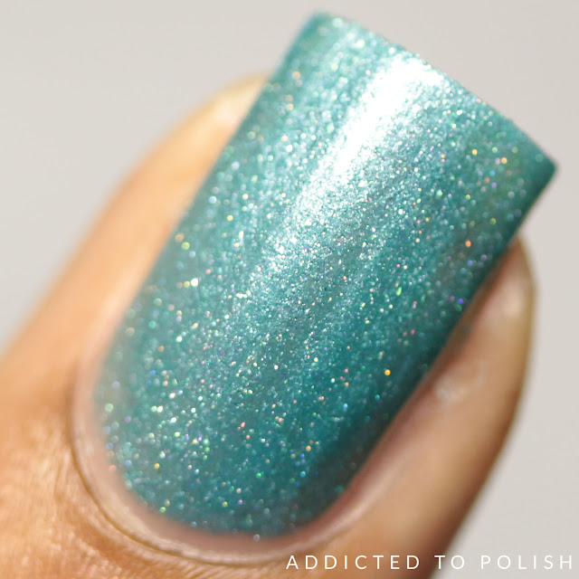 Leesha's Lacquer Once in a Blue Moon