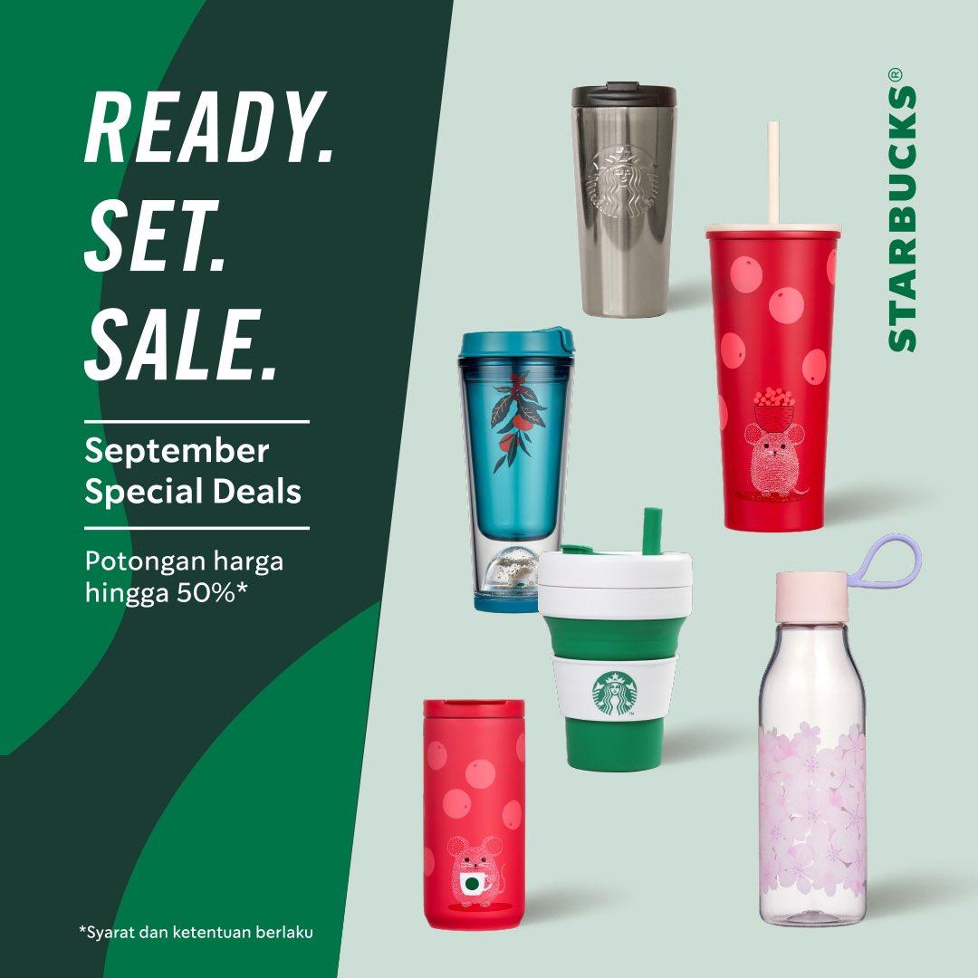 Promo Starbucks Diskon Hingga 50 Starbucks Official Merchandise 12 30 September 2020 Harga Diskon